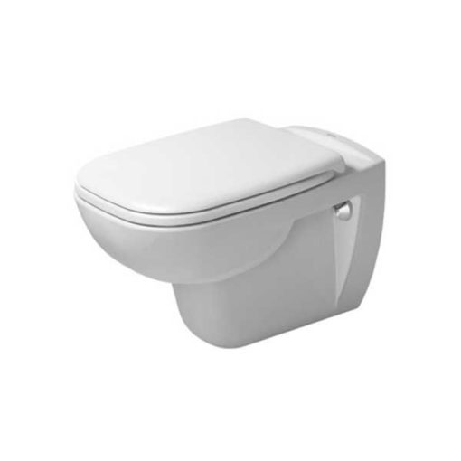 Duravit D-Code vägghängd WC-skål ink soft close sits